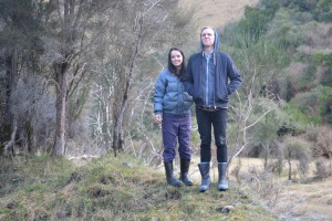Hana & Will at Lindisfarne